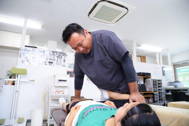 全身治療|川越市でスポーツのケガの治療